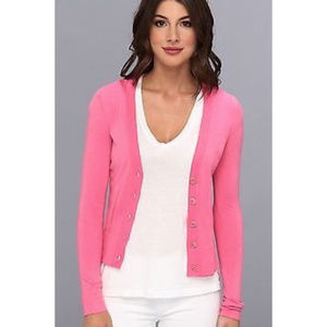 Lilly Pulitzer Melody Cardigan Palm Beach Pink